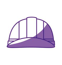 Safety helmet icon vector