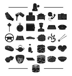Transportation accessories machinery and other vector