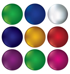 Coloured circles vector image