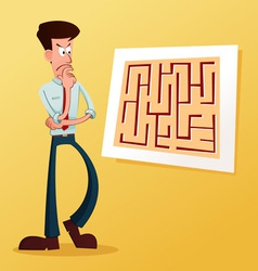 Solve the maze vector