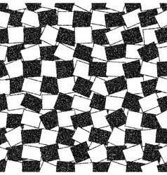 Black and white background of rectangles vector image vector image