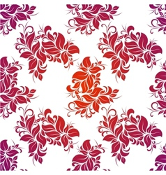 Bright floral seamless vector image