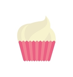 cup cake celebration love vector image vector image