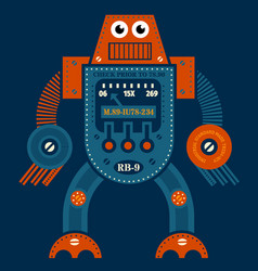 Muscle robot vector
