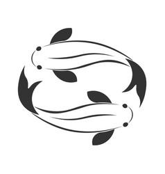 Sea food restaurant and fish logo vector