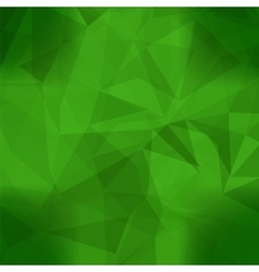 Abstract green pattern vector