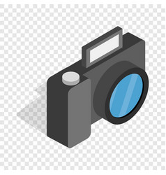 Camera isometric icon vector