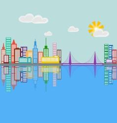 City 5 vector image