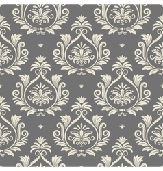 Baroque seamless background vector