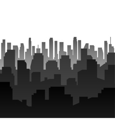 Background silhouette of the city vector