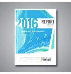 Business design cover magazine info-graphic vector