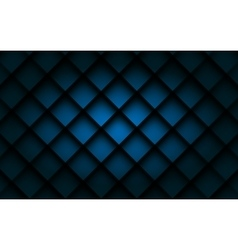 Blue square background vector image