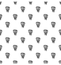Balloons pattern simple style vector image