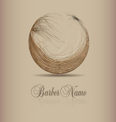 Design for hair logo vector