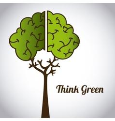 Ecological mind vector