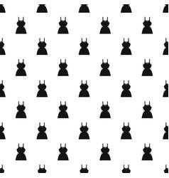 Little dress pattern vector