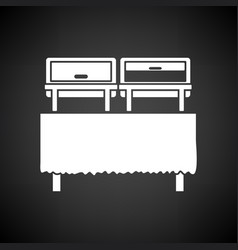 chafing dish icon vector image