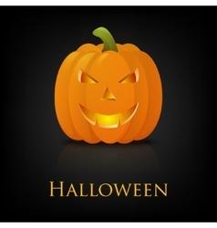 Happy halloween pumkin background vector