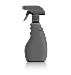 plastic bottle can spray pistol vector image