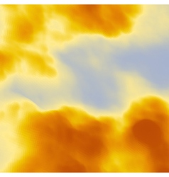 Sky With Clouds Modern pattern Nature background vector image