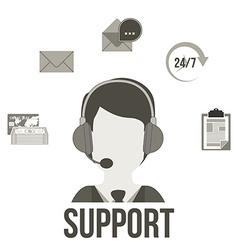 Support design vector