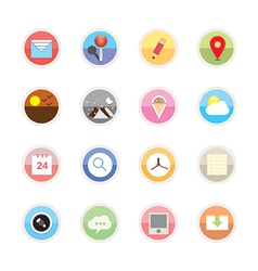 Web icons 22 vector