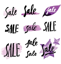 Calligraphy sale 1 vector