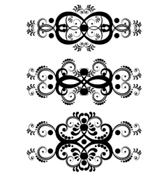 Decorative floral ornament9 vector