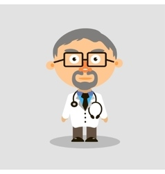Medical doctor icon vector image vector image