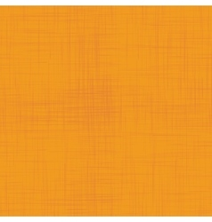 Orange linen seamless texture vector image
