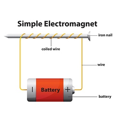 Simple electromagnet vector