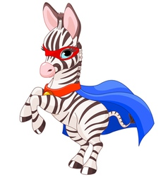 Super zebra vector