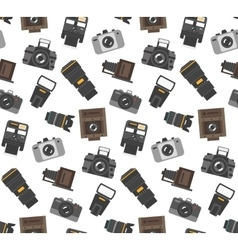 Photography gear seamless pattern vector