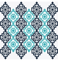 Tribal design bue abstract figure vector image