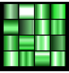 Green gradient background vector