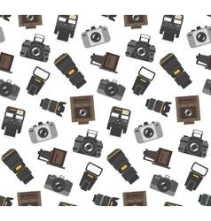 Photography gear seamless pattern vector