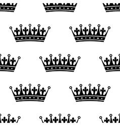 Royal heraldic seamless pattern vector