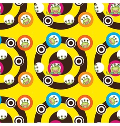 scary monsters vector image vector image