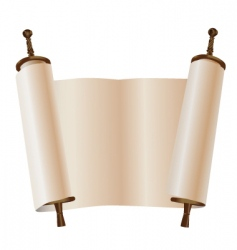 scroll vector image vector image