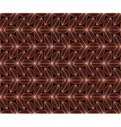 seamless pattern with coffee motive vector image vector image