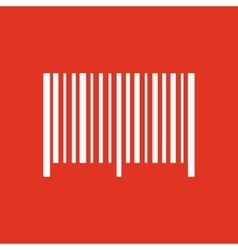 The barcode icon identification and id symbol vector