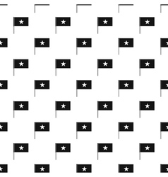 Flag of vietnam pattern simple style vector
