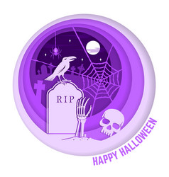 halloween is coming concept vector image vector image