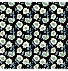 Floral ornament background for textile vector