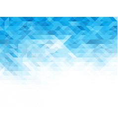 Abstract light blue geometric background vector