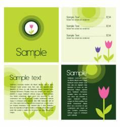 spring design vector image