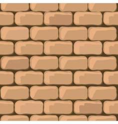 brick wall seamless vector image
