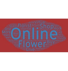 The flower shop actual or virtual your one stop to vector