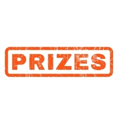 Prizes rubber stamp vector
