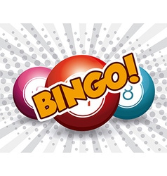 Bingo design vector